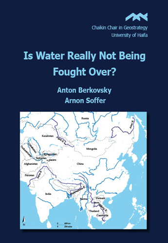 Is Water Really Not Being Fought Over ?