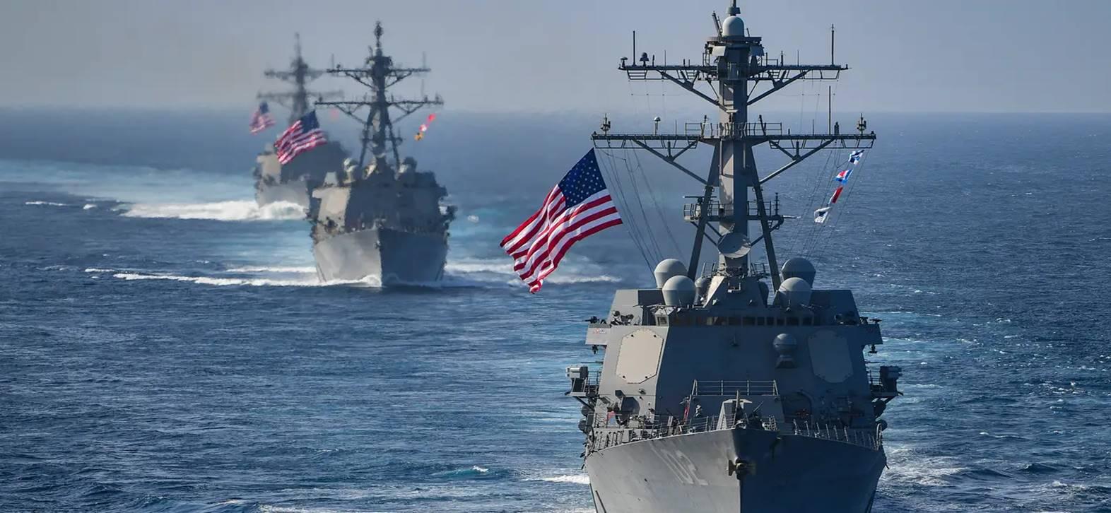 ארצות הברית הגדילה את מעורבותה בסכסוך המתנהל בים סין הדרומי